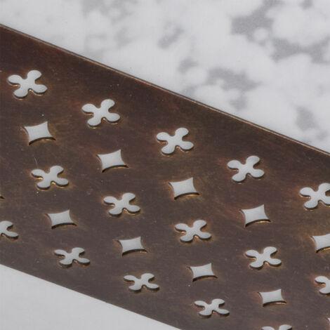 LED Deckenleuchte aus Metall und Glas, Höhe 25,4 cm, SARAH - 332334316+LED