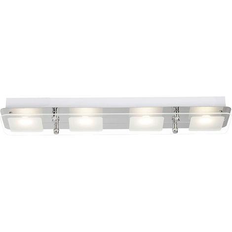 LED Deckenlampe Spot 3 Flamig Deckenleuchte Lampe Leuchte Brilliant G11430//15