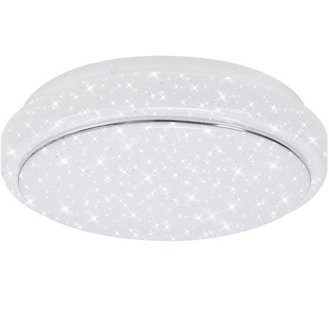 LED Deckenleuchte Briloner 3140-016 Badlampe Dimmbar Sternenhimmel