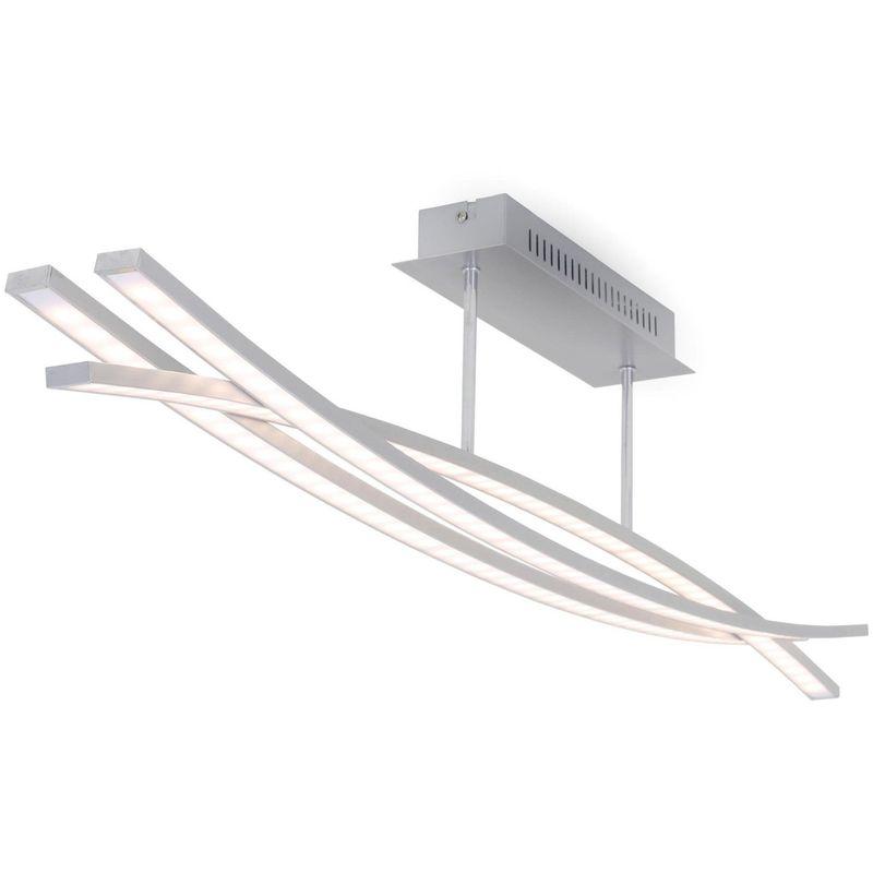 LED Deckenleuchte 4441-039 Wohnraumlampe Welle Dimmbar - Briloner
