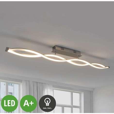LED Deckenleuchte dimmbar für Wohnzimmer & Esszimmer von ...