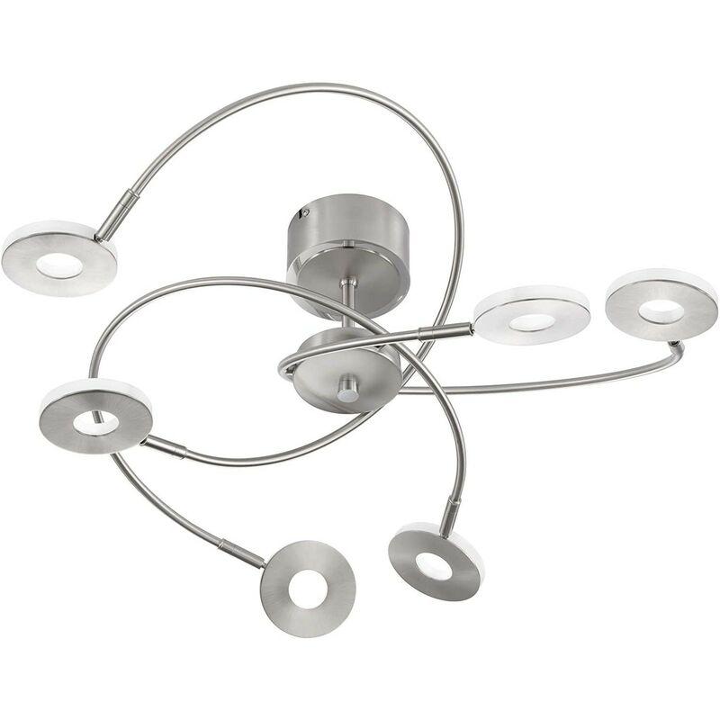 LED Deckenleuchte Fischer-Honsel Dent 20532 Fernbedienung CCT Dimmbar