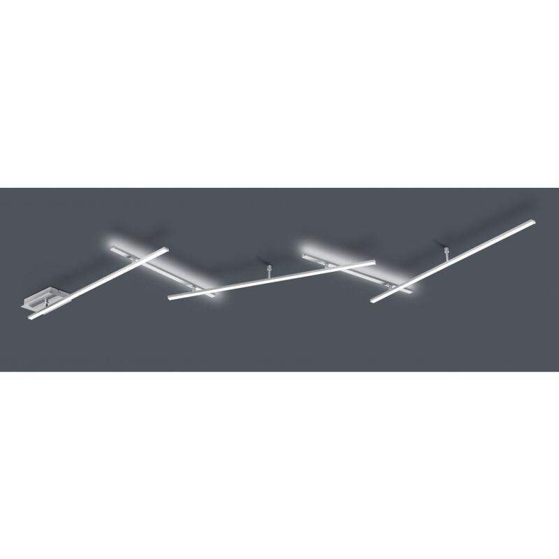 Trio Leuchten - 674610507 INDIRA 3x6 W LED Deckenleuchte Deckenlampe Switch Dimmer ca. 245 cm cm 'SW13020'