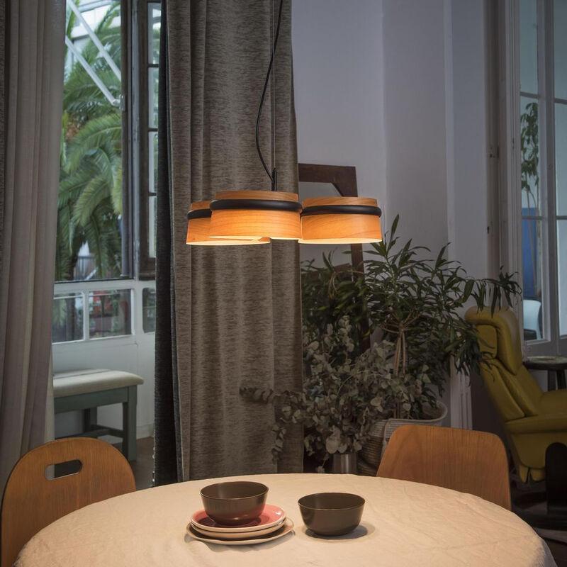 Led Deckenleuchte mit 3 Leuchten cm 120X52X52 29567 - Faro Barcelona