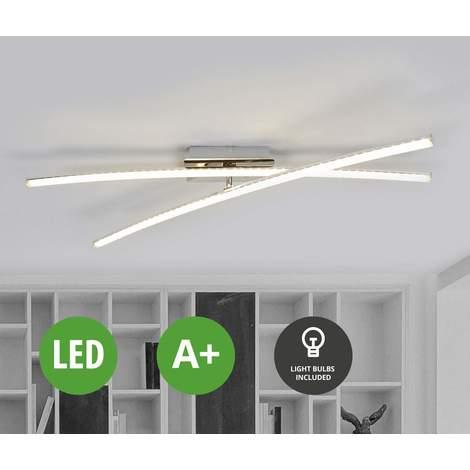 LED Deckenleuchte (Modern) in Alu aus Edelstahl u.a. für ...
