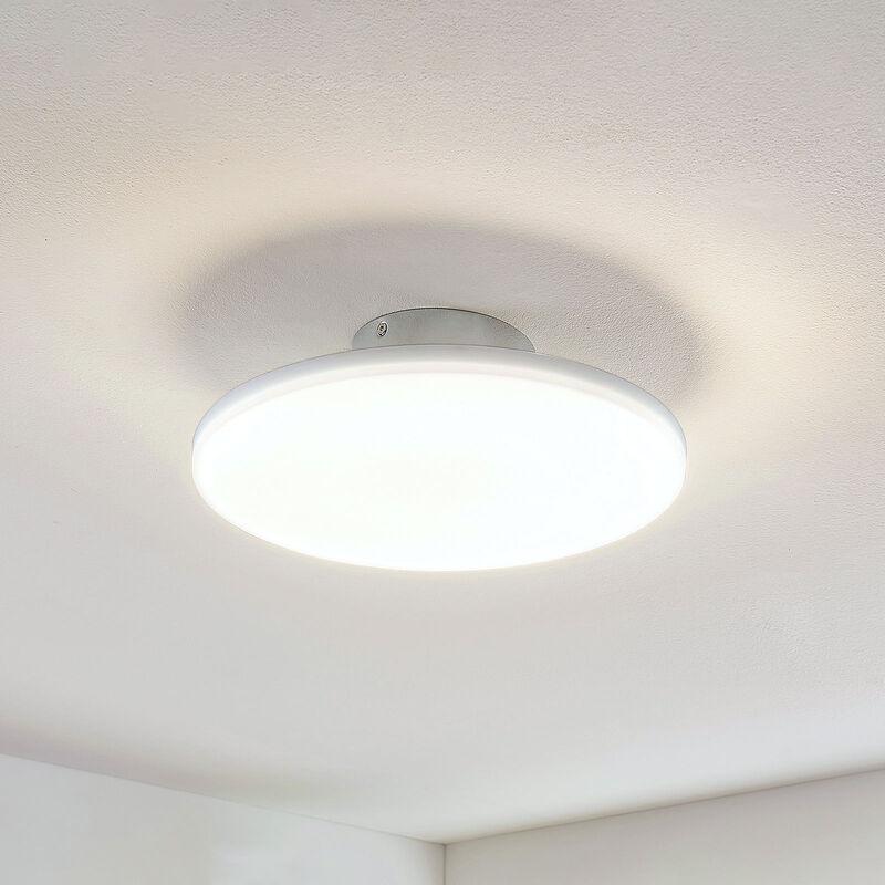LED-Deckenleuchte Sherko, rund, 1-flammig - LUCANDE