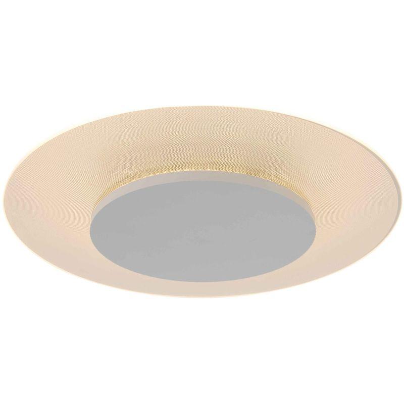 LED Deckenleuchte Lido 7798W Weiß Modern Wohnraumlampe - Steinhauer