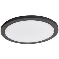 LED Deckenleuchten aus Aluminium mit Bewegungsmelder von Lampenwelt
