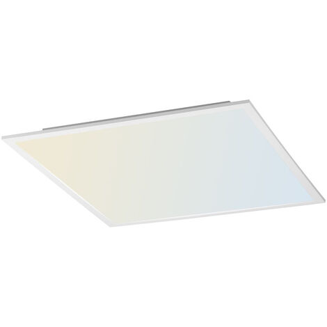 LED Deckenpaneel Flat tunable White inkl. Fernbedienung 620 x 620 mm