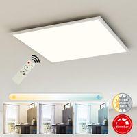 LED Deckenpanel Briloner Piatto 7195-016 Deckenleuchte Fernbedienung