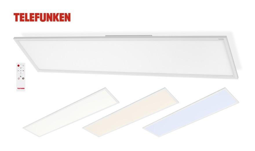 LED Deckenpanel 301106TF Deckenleuchte Mit Fernbedienung - Telefunken