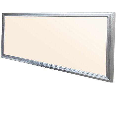 LED DEL panneau 60x30 cm blanc chaud 3000K 18W panel plafond suspendue