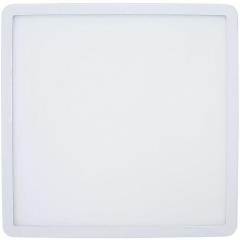 Led downlight aluminio empotrado cuadrado blanco 20w ajustable 50-210mm alta calidad
