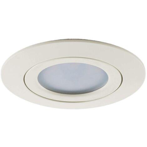 LED downlight Andrej, round, white