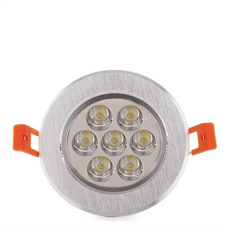 LED Downlight Ecoline Rond 7W 700Lm 30.000H