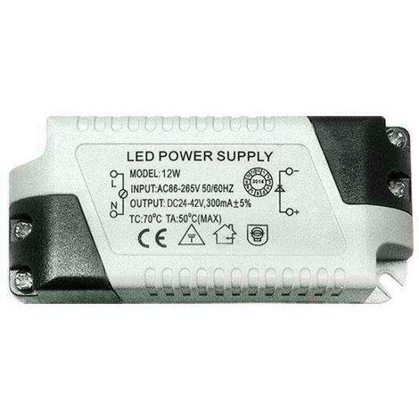 LED Driver 24-42VDC/12W/300mA