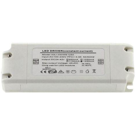 LED Driver DC24-42V/50W/1250mA