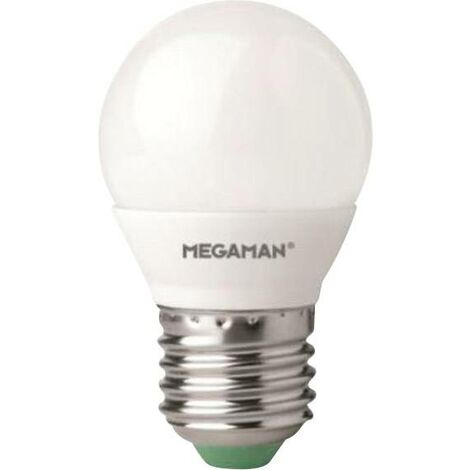 LED E27 Megaman LG2605.5 E27 2800K 5.5 W = 40 W blanc chaud (Ø x L) 45 mm x 77 mm 1 pc(s) Y000141