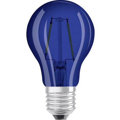 LED E27 OSRAM 4058075816008 2 W = 15 W bleu (Ø x L) 55 mm x 105 mm 1 pc(s)