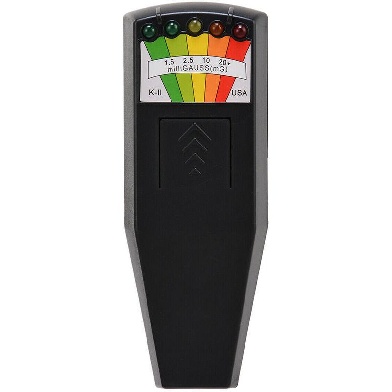 Led EMF mide, detector de campo de magnetizacion, Santo Detectando