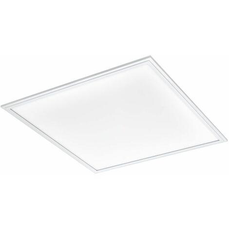 LED en panel empotrado techo rejilla lámpara sala de trabajo relajarse iluminación ALU lámpara blanco Eglo 96897