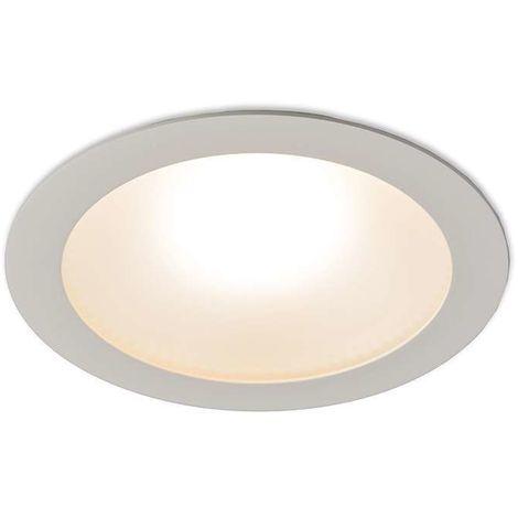LED encastré Invaser 20W blanc Qazqa Moderne Luminaire interieur Rond