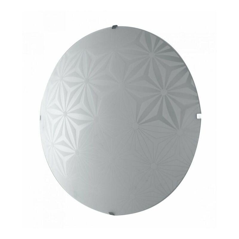 Plafoniera con luci led e decori astratti 18 watt - SHOP-DAY