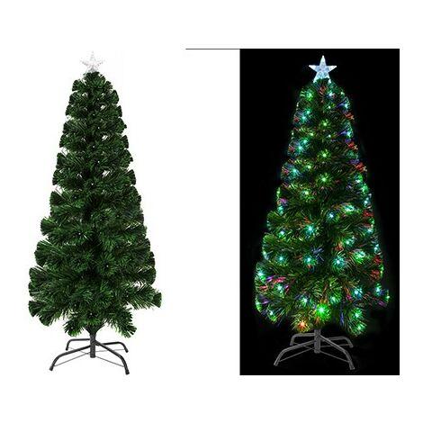 LED & Fibre Optic Christmas Tree