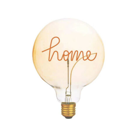 LED Filament Home Bulb XXCELL Globe Amber Decorative Table Top - E27 - 2W