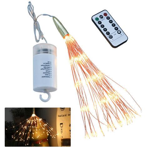 LED firework lights Christmas lights string garden ins decoration lights Firework lights