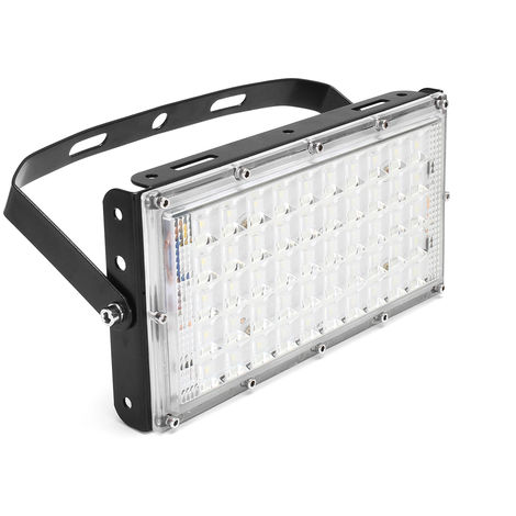 LED Floodlight 50W Outdoor Flood IP65 Waterproof Light 3500lumen Black