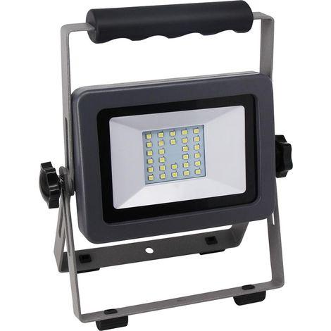 LED Fluter FLARE 20W en Ständ negro-plata