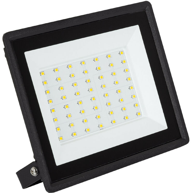 50W UltraDünn LED Flutlicht Fluter Strahler Außen Scheinwerfer Kaltweiß IP67