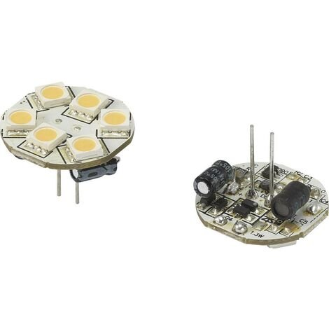 LED G4 Renkforce 792397 1.2 W = 10 W blanc chaud (Ø x L) 23 mm x 23 mm 1 pc(s)