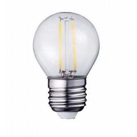 LED g45 filamento de la bombilla e27 2w