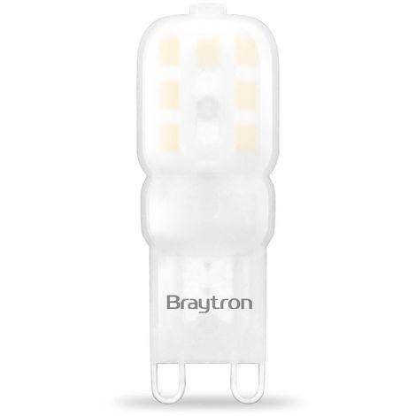 LED G9 Leuchtmittel 3 Watt 220 Lumen A+ 3000 Kelvin Ø 1,6cm 4,8cm hoch