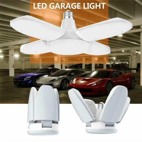 LED Garage Shop Work Lights Maison Plafonnier Lampe Déformable 60W 5400lm E27
