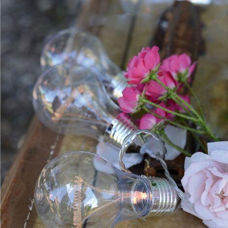 LED garland 8 bombillas transparentes 3.5 m