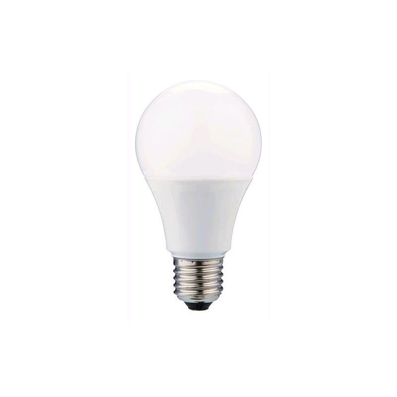 LAMPADINA LAMPADA LED GOCCIA 9W E27 -LUMEN 806 -2700K LUCE CALDA Cf. 10 PZ