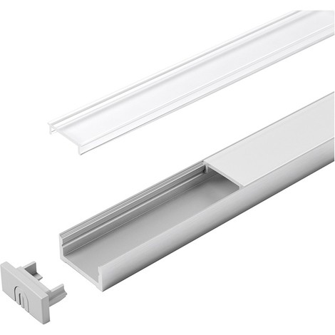 LED goulotte Versa ChannelLine D 2000 mm opal