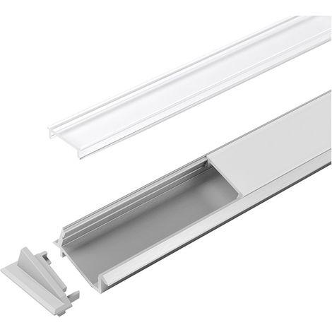 LED goulotte Versa ChannelLine E Endkappen Set