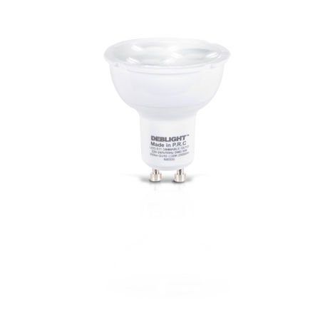 LED GU10 220-240V dimmable/ 5W - DEBFLEX
