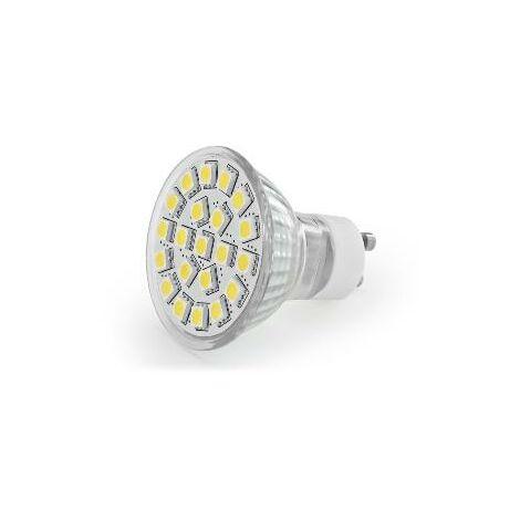 LED GU10 - 4.6W BLANC BRILLANT