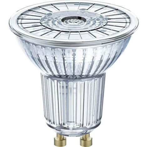 LED GU10 OSRAM 4052899390195 4.6 W = 50 W blanc neutre (Ø x L) 51 mm x 55 mm 1 pc(s)