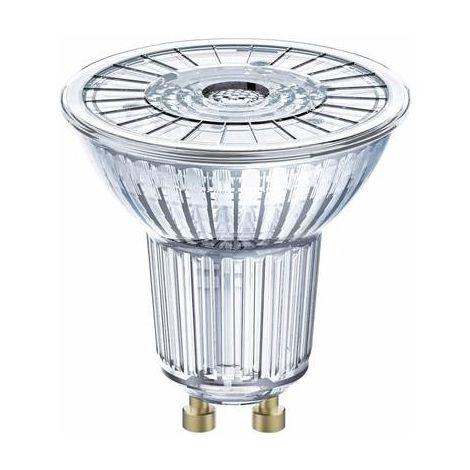LED GU10 OSRAM 4052899958043 2.6 W = 35 W blanc neutre (Ø x L) 51 mm x 55 mm 1 pc(s)
