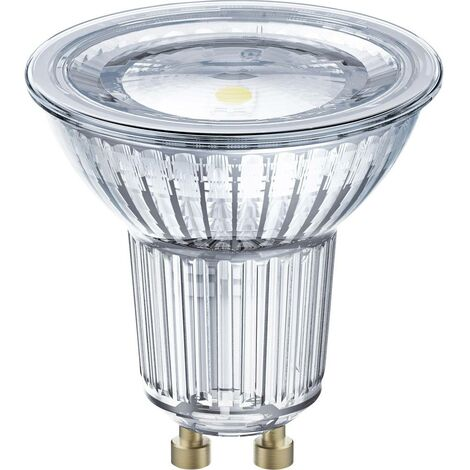 LED GU10 OSRAM 4058075036895 7.2 W = 80 W blanc chaud (Ø x L) 51 mm x 55 mm 1 pc(s)