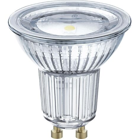 LED GU10 OSRAM 4058075036895 7.2 W = 80 W blanc chaud (Ø x L) 51 mm x 55 mm 1 pc(s)