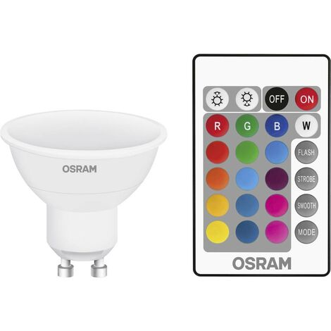 LED GU10 OSRAM 4058075045750 4.5 W = 25 W RVBB (Ø x L) 50 mm x 56 mm 1 pc(s)