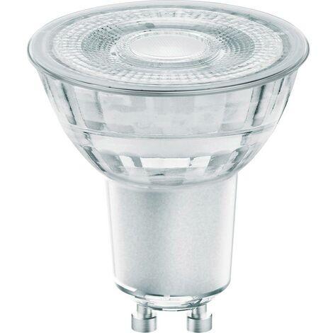 LED GU10 OSRAM 4058075105638 5.20 W = 50 W blanc chaud (Ø x L) 50 mm x 50 mm 1 pc(s)