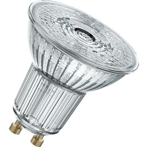 LED GU10 OSRAM 4058075815629 6.9 W = 80 W blanc neutre (Ø x L) 51 mm x 55 mm 1 pc(s)